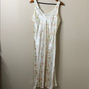 Talbots Intimates Floral Nightgown